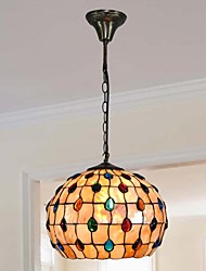 12-Zoll-Design neue Kugelform Shell-Material Tiffany Pendelleuchte
