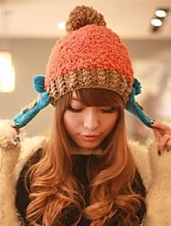 Frauen-Mode Persönlichkeit schönen warmen Ohrenschützer Hut