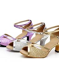 Sapatos de Dança() -Feminino-Personalizável-Latina Dança de Salão