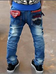 Boy's Red Pocket Jeans