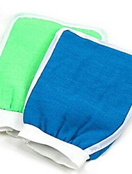 Moisturizing Spa Bathwater Scrubbing Bath Exfoliating Gloves For showering(Random Color)