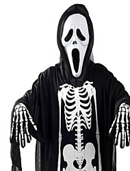 120cm Halloween Mischief Ghost Cloth with Mask and Nail  Set