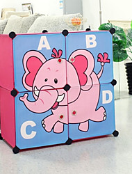 Multifunctional Children's Cartoon Oxford Clothing Four Style of Storage Box