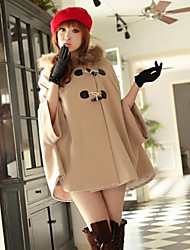 Women's Han Edition Cloth Coat Cape Coat