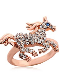 Ring  Women Cute/Party/Casual Alloy/Crystal Other)