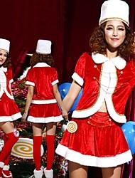storia favola Lo Schiaccianoci flanella rossa costume di Natale