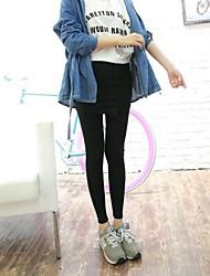 Women's Irregular Slit  Leggings