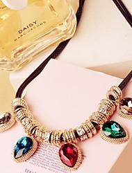 jesen Frauen Tropfen Stil Halskette