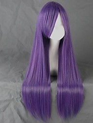 Cosplay Wigs Cosplay Cosplay Purple Long Anime Cosplay Wigs 80 CM Heat Resistant Fiber Female