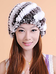 Fur Accessories Fur Hat Rex Rabbit Fur Special Occasion/Casual Hat(More Colors)
