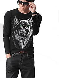 moda t-shirt 3d padrão dos homens lk