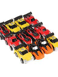 12шт дети весело мини фотоэлектрический ускорить Вытяните назад автомобиль игрушки дрейф в