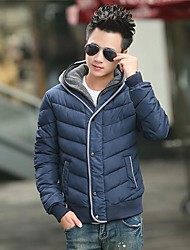 Men's Fashion Generous Leisure Long Sleeve Cotton-Padded Clothes