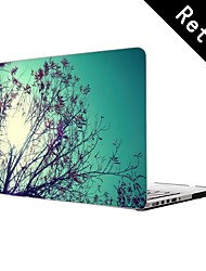 "Nature Scenery Design Full-Body Protective Plastic Case for 13""/15"" MacBook-Pro with Retina Display"