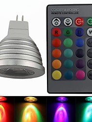 Faretti 1 Illuminazione LED integrata Zweihnde MR16 4 W Intensità regolabile / Controllo a distanza / Decorativo 220-250 LM Colori primari