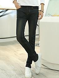 Männer Persönlichkeit kratz Jeans