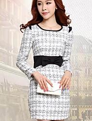 grandes vestidos de lana patio de moda femenina ckj ™