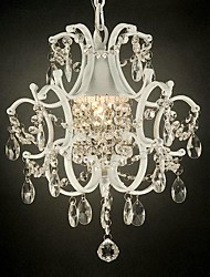 Crystal Chandeliers , Traditional/Classic Bedroom/Dining Room/Study Room/Office/Hallway Metal