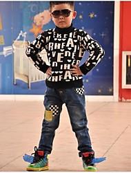 jeans enfants coréens de garçon