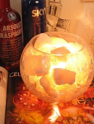 Table Lamps 1 Light Transparent  Warm White Light Crystal Salt Glass Modern 220V