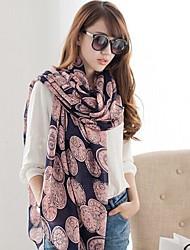 длинный шарф женщин с кулоном художественном смысле