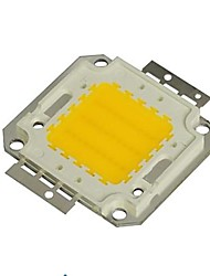 30w 2700lm 3000k warm wit led-chip (30-35v)