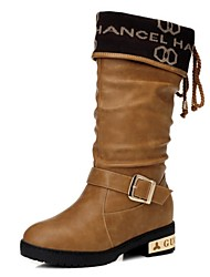 Women's Shoes Guciheaven Motorcycle Boots Low Heel Mid-Calf Boots More Colors available