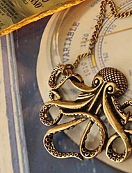Women's Octopus Retro Long Necklace