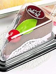 aparelhos de banho, material de poliéster criativa forma de sanduíche toalha, férias ou presente de aniversário ((cor aleatória)