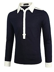 Herrenmode schlank Polo-Shirt