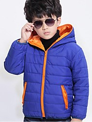Boy's Cotton Down & Cotton Padded,Winter Solid