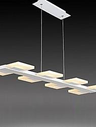 lampes suspendues 8 lumière simple et moderne artistique