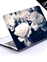 diseño de la rosa caja de plástico de protección para todo el cuerpo de 11 pulgadas / 13 pulgadas de aire nuevo macbook