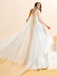 Light & Graceful White Wedding Veil(3m)