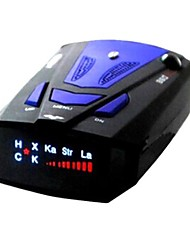360 Degree Car Radar Detector Anti Laser Alarm Russian/English Voice With Speed Control