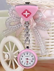 Женские Модные часы Кварцевый сплав Группа Конфеты Серебристый металл бренд-