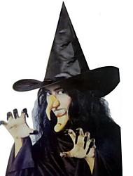 Halloween cappello da strega, protesi, chiodi e puntelli mento vestire