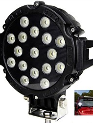 "Liancheng® 6.3"" 51W 5100Lumens Super Bright LED Work Light for Off-road,Tractor,UTV,4WD,SUV"