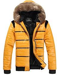 Skymoto® Men's Thick Fur Collar  Cotton Coat