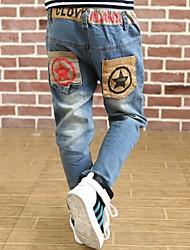 Boy's Winter Pocket Star Jeans