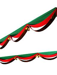 merry christmas bandiera decorazione appendere tessuto non tessuto, colore casuale 20 * 50 * 10cm
