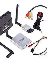 FPV 5.8G 200mW A/V Transmitter Receiver 3KM for Airplane Multicopter