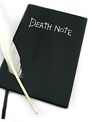 death note livre + plume plume cosplay ensemble