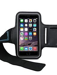 borse braccio di unisex braccio protezione del telefono banda braccio mobile manicotto per la corsa / ciclismo / bici per iphone 6 più