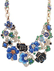 Beautiful Flowers and Sweet Pastoral Style Fashion Necklace(More Colors)