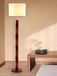 madera clásica lámpara de pie 220v