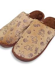Les chaussures pour hommes réconfortent plats pantoufles talon polaire chaussures plus de couleurs disponibles