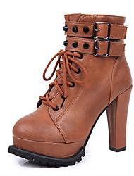 High Heel Riemchen Gürtel Stiefel Loubo Frauen