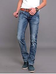 la force élastique crayon jean slim pantalons pour hommes
