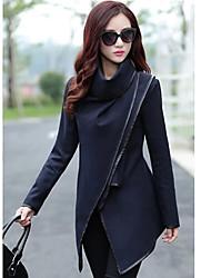 Women's European Korean Linen Slim Coat Coat